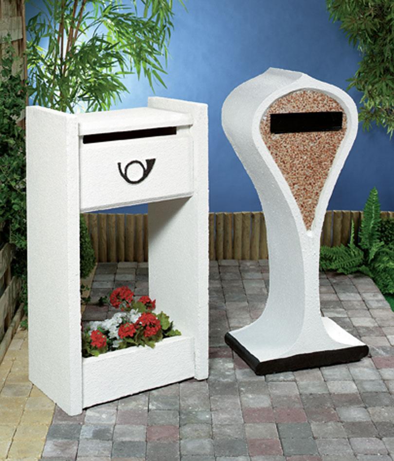 mid century modern mailboxes modern design by. Black Bedroom Furniture Sets. Home Design Ideas