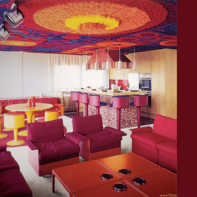 Fiberglass interior design architecture modern design for 1970s living room interior design
