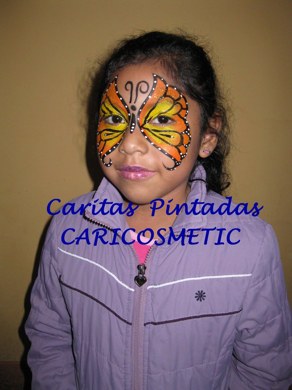 ... El Mundo Magico de los niños: CARITAS PINTADAS CARICOSMETIC