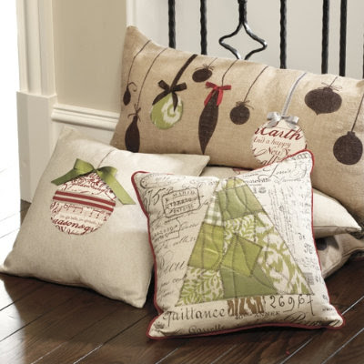 Inspired by you: Ballard Holiday pillows