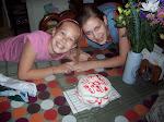 Sarah and Rachel May 2009