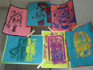 Collagraphs by 4th