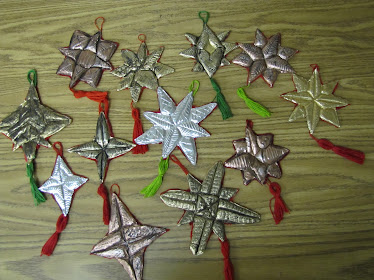 5th grade Repousee Ornaments