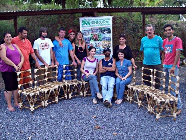 Armarios Para Jardin Ikea ~ CVT Formiga MG Curso Artesanato em Bambu