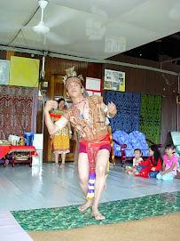 Warrior Dance @ Ngajat