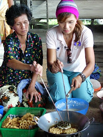 Making the traditional food
