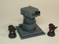 warhammer 40k terrain weapon gun turret 25-28 mm