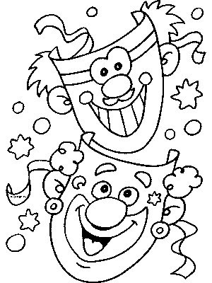 Carnival Coloring Pages Coloring Pages Gallery