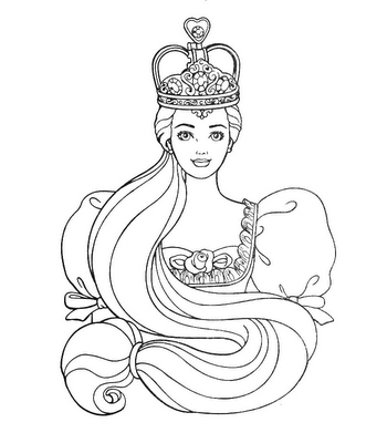 barbie princess coloring pages online coloring pages