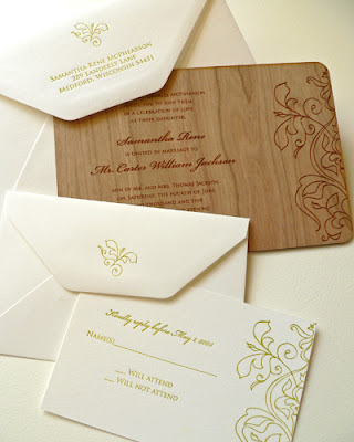 neo ethnic wedding invitations design