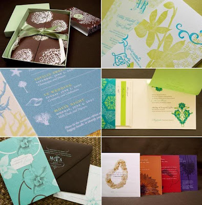 Choose one of the wedding invitation designs for your special wedding