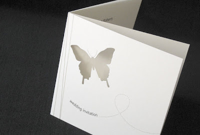 butterfly wedding invitations cards