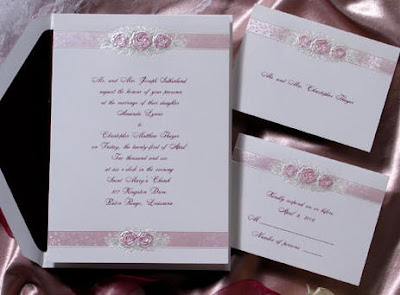 Sample Wedding Invitations for a Second Wedding