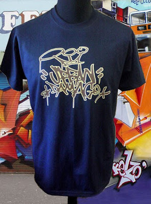 Cool T-Shirt Tribal Graffiti Alphabet Sold Out!