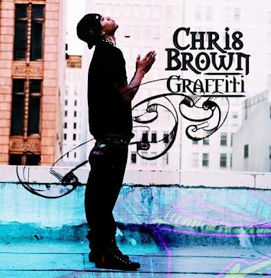 graffiti chris brown