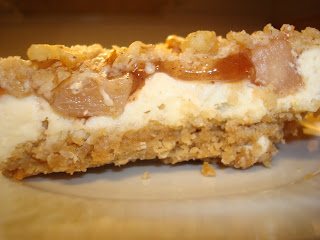 Cooking Lessons and the Spice of Life: Apple Streusel Cheesecake Bars