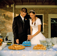 Wedding Cookie Monster Cake!