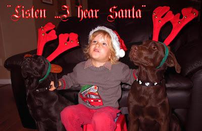 """""""Listen …I Hear Santa"""""""