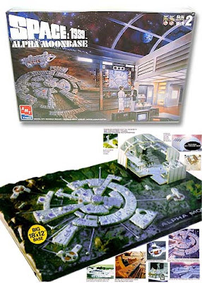 Space 1999 Moon Base Diorama