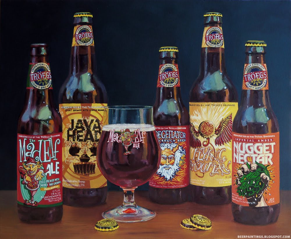 Beer Paintings Paying Tribute To Fine Beer With Fine Art