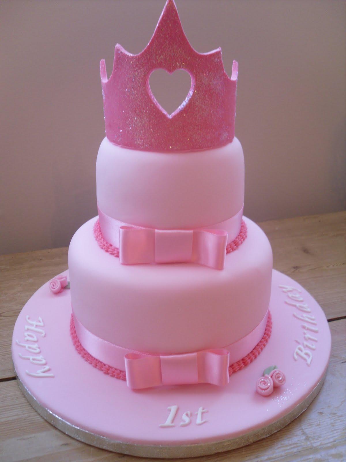 Simple Princess Cake Design : Katies Cupcakes: 2 Tier Princess Cake