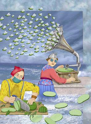 Ilustraciones Surrealistas ((Si te gusta el Arte Entra))