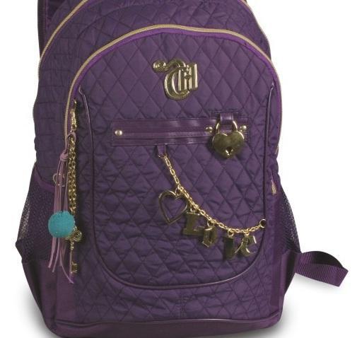 Bolsa para carregar materiais escolares : Lipstick lovers volta as aulas mochila bolsa