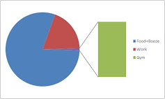 my life as a pie chart