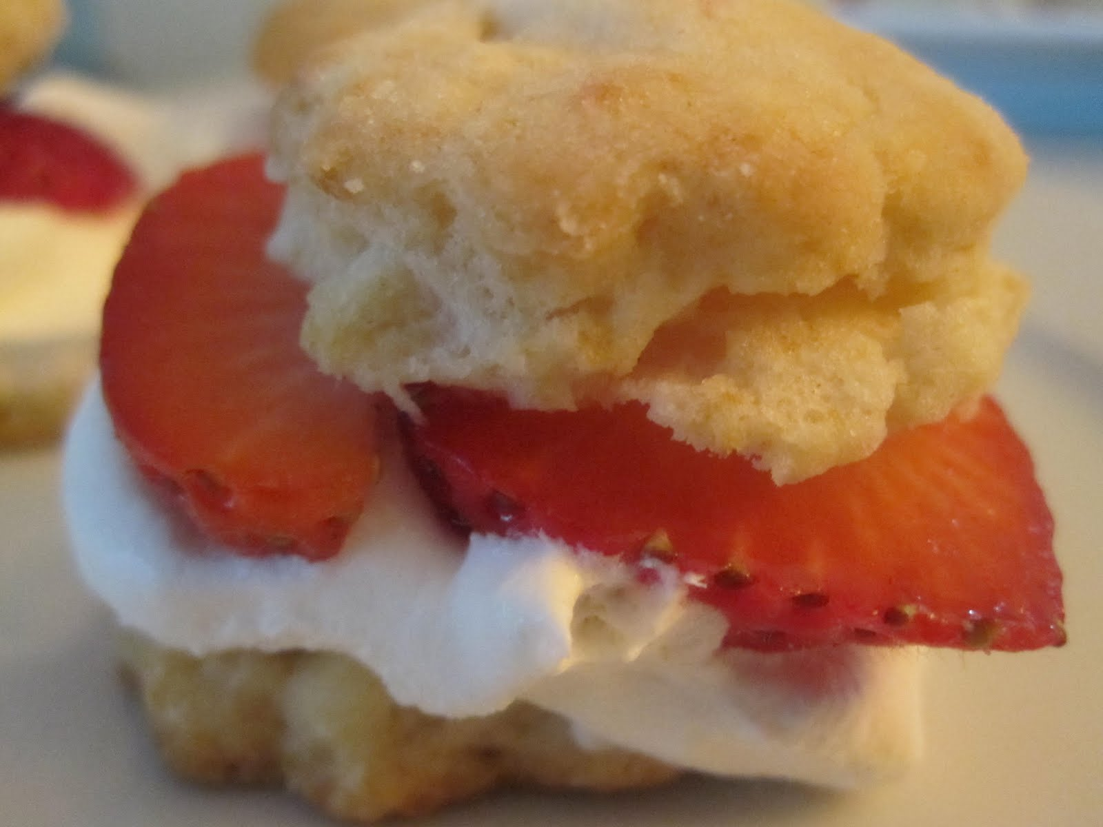 strawberry shortcake sliders - floating cloudberries the recipes