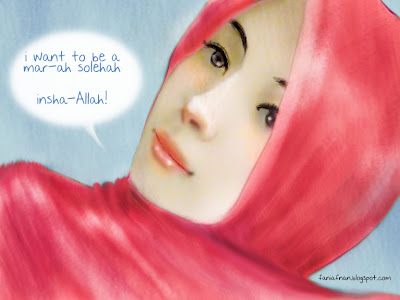 GaDiS KaLiS PeLuRu:.: Wahai wanita Solehah...bersabarlah~