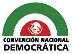 Convención Nacional Democratica del D.F.