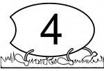 04 5 150x102 Centopéia dos números para crianças