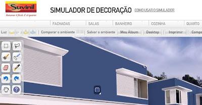 Blog vip lar neg cios no lugar certo e na hora de pintar for Simulador de casas
