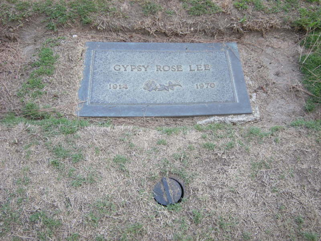 Queen of Burlesque Gypsy Rose Lee Buried in Inglewood