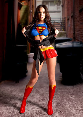 Superhero Megan Fox?