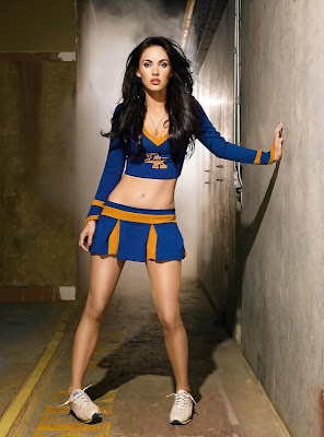 Cheerleader Megan Fox