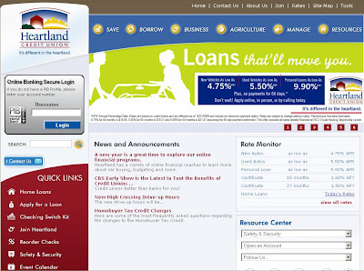 Heartland Credit Union - Online Banking at www.heartlandcu.org