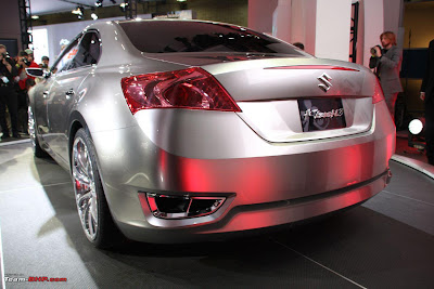 Maruti kizashi india - Maruti Suzuki Kizashi - pics, price & specification