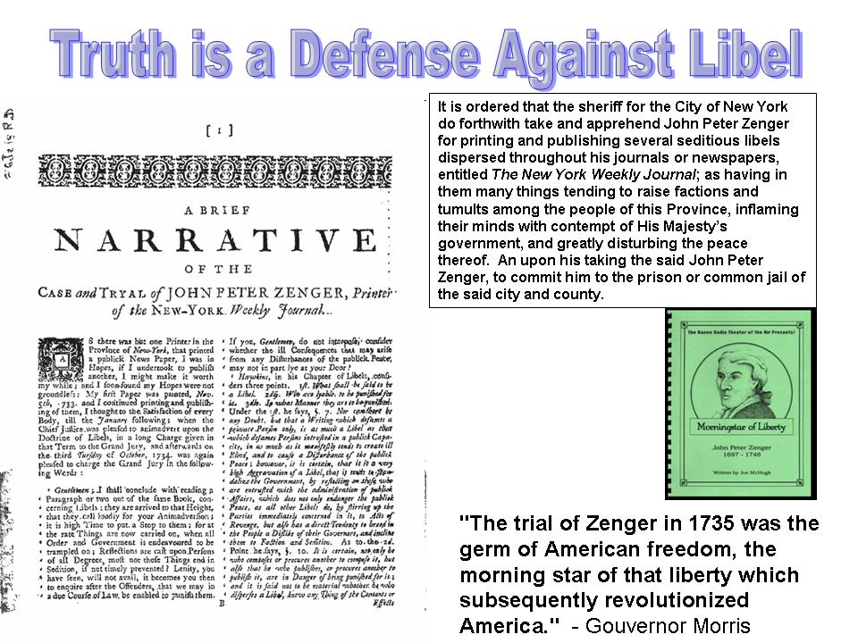 john peter zenger essay John peter zenger (1697-1746), american printer, was selected to print a weekly   alexander's essays took a much more advanced position on this issue than.