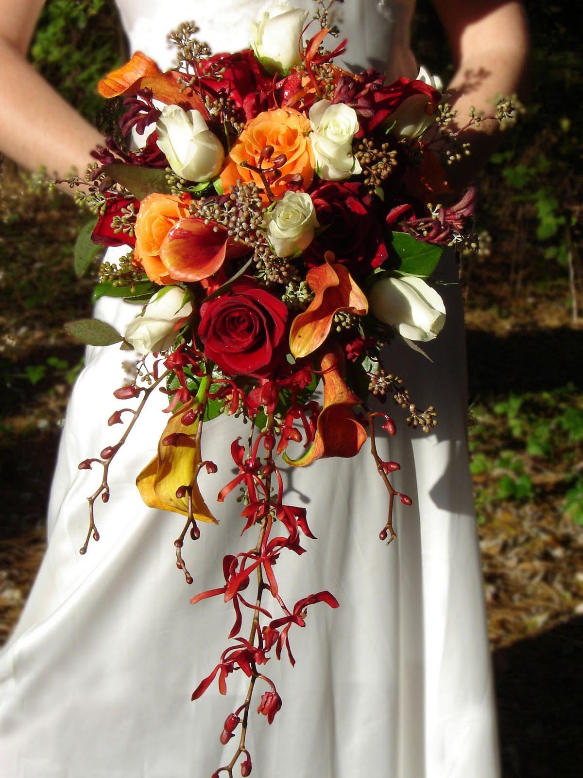 Beautiful Fall Wedding Studio In Bloom