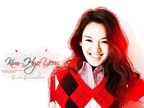 Wallpaper Hyoyeon SNSD