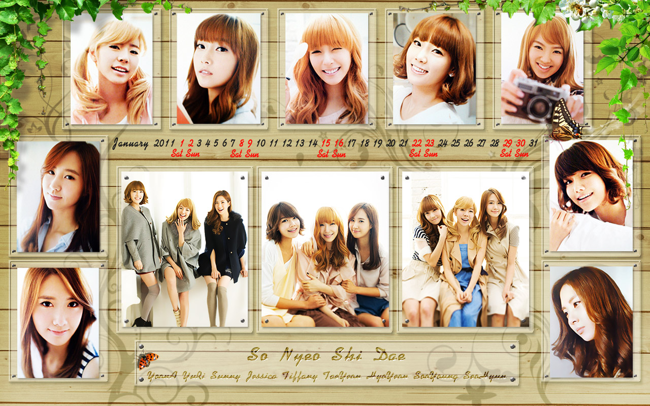 GIRLS' GENERATION- The power of 9! - Page 4 Snsd+wallpaper+-+1