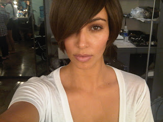 Kardashian Short Hair on Fa2e Miss Lisa  Kim Kardashian Short Hair