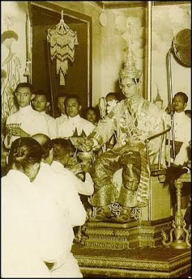 Royal Coronation of HM King Bhumibol (5 May 1950)