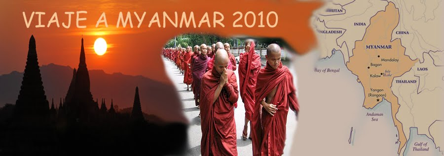 VIAJE A MYANMAR 2010