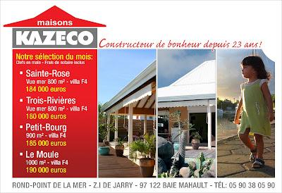 Pardo matias publication mensuel maison creole for Entreprise de construction maison individuelle