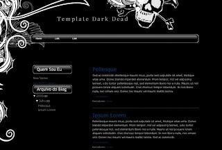 Template Dark Dead