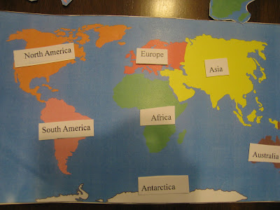 Homeschool sg teaching world continents montessori way the sonshine was interested in world flags and looking at the world map so i grabbed the chance to teach him world continents gumiabroncs Images