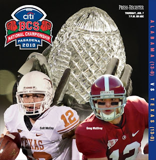 Watch Texas vs Alabama Live - 2010 Citi BCS National Championship Game