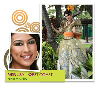 Miss Photogenic & Best in Swimsuit - Nikki A. Martin  (Filipino communities in West Coast, USA)